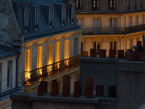 Golden Window Light of Paris