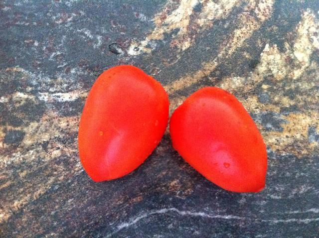Ripe Roma Tomatoes