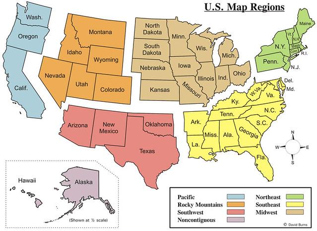 Map Of Us Midwest States - Map of us midwest states