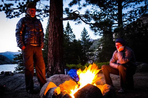 Relief campfire