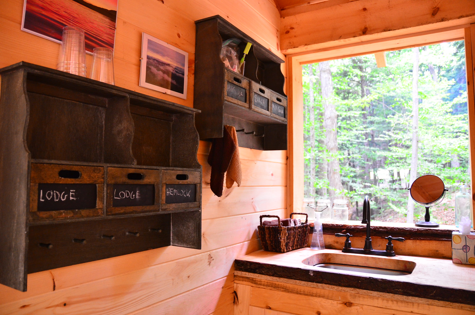 Glamping in Adirondacks