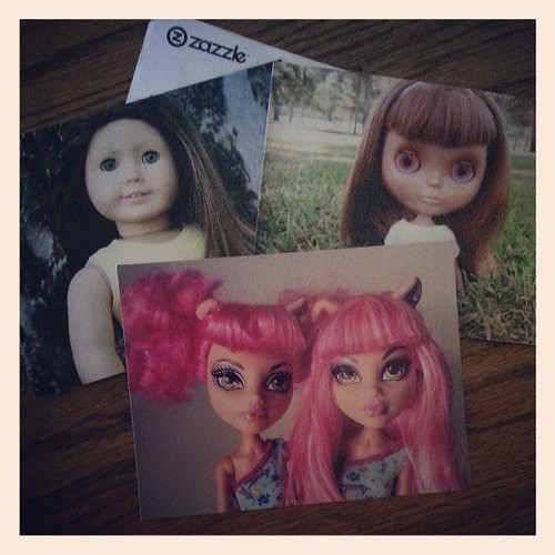 Doll Photography Postcards