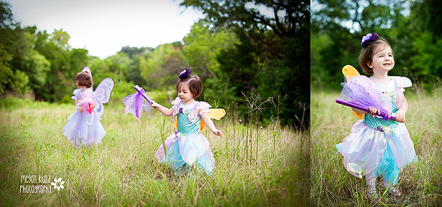 Waco Texas Photographer Megan Kunz Photography Waco Kids Dental Fairies duo 2blog