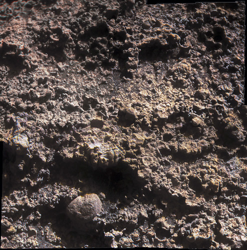 Opportunity Microscopic Imager Sol 3380 - Black Shoulder