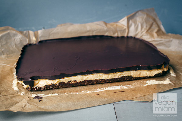 Ms. Cupcake Vegan Nanaimo Bars