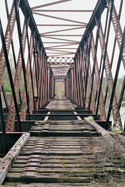 Black Bridge 2012, Green Island, N.Y.