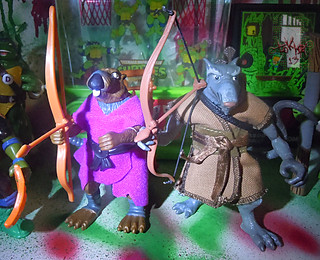 TEENAGE MUTANT NINJA TURTLES - CLASSIC COLLECTION :: 'RETRO' SPLINTER xxiii // .. with '03 Splinter (( 2013 ))