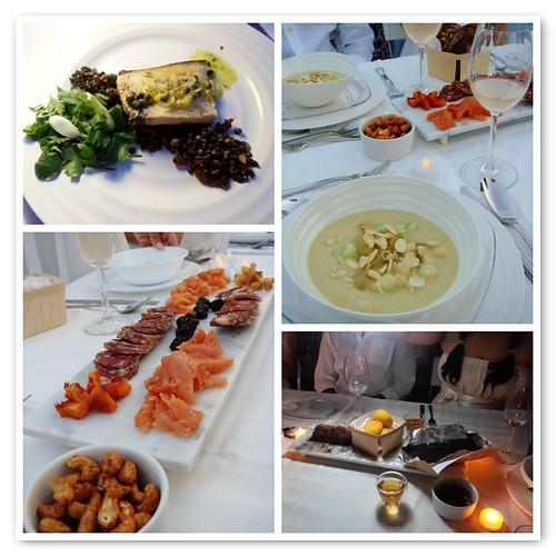 Homemade Diner En Blanc Feast
