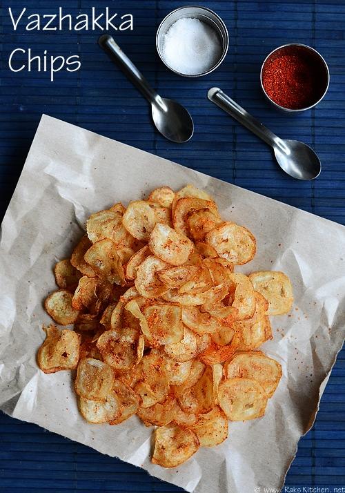 vazhakkai chips recipe