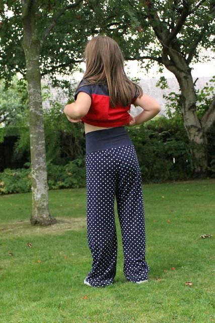 Ananda pants back