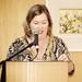 An Cathaoirleach Councillor Carrie Smith (Art work Jean Bardon)
