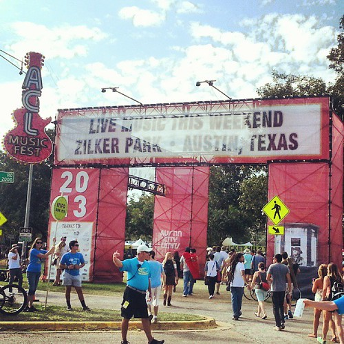 Entering #ACLFest!