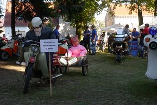 Stand der Motorradfreunde