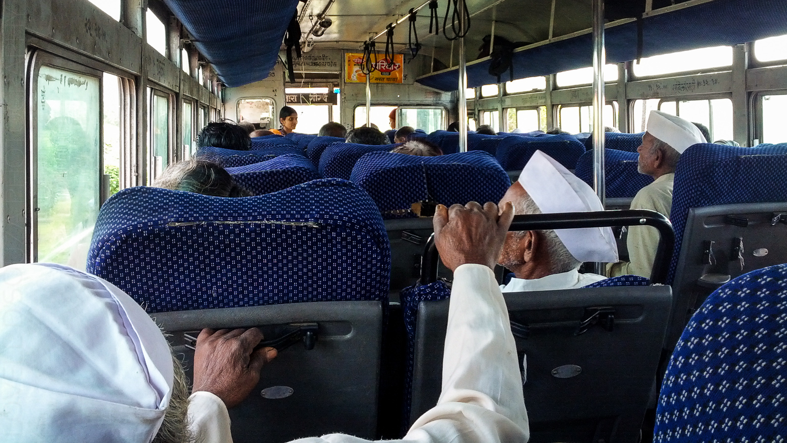 Bus back to Satara