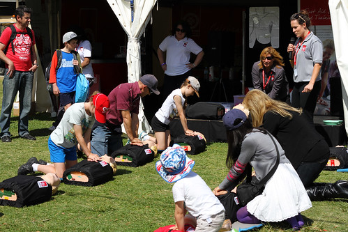Perth Royal Show 2013 - CPR Class