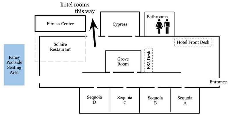 Hotel Paradox Conference Floor Plan