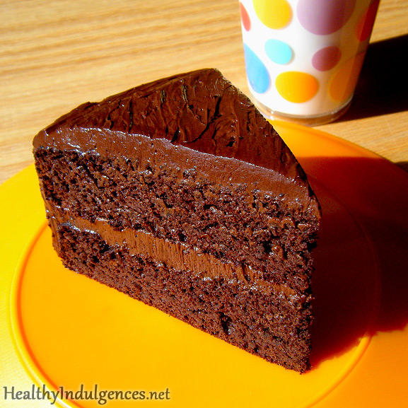 Sugar-Free, Healthy Chocolate Cake (Made from Black Beans!)