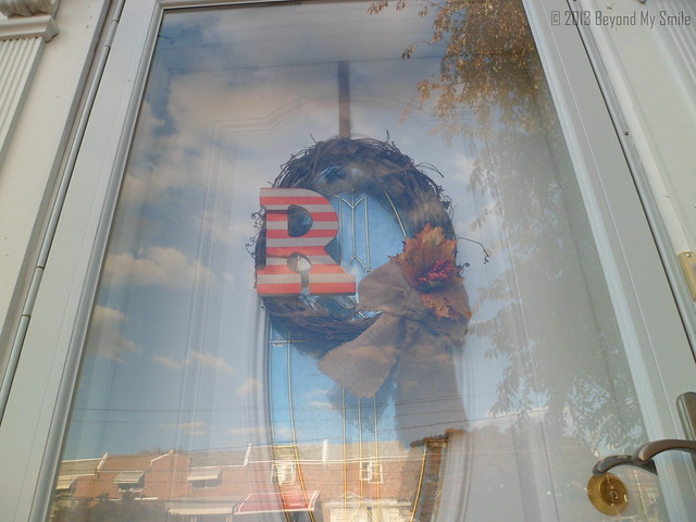Fall Wreath_Painted Wooden Letter_Door