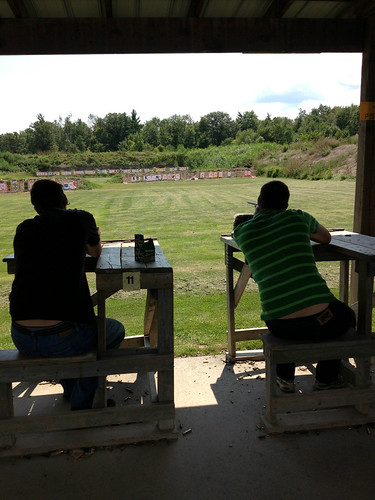 Dan And Mike At The Gun Range