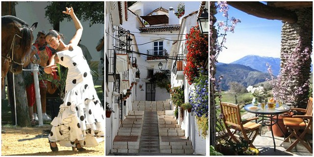 andalucia collage