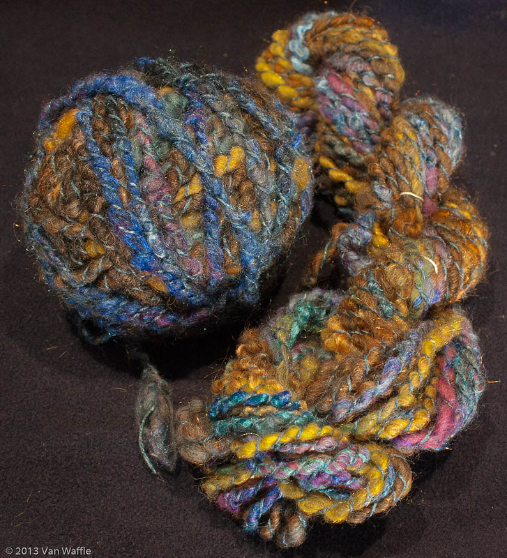 Tobermory sunset yarn