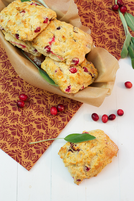 Cranberry and Sage Biscuits