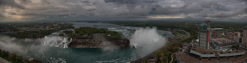 Panorama of Niagara Falls by hedgehoq