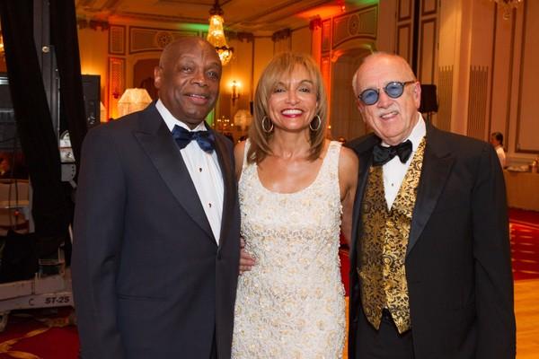 Willie Brown Jr., Pam Moore and Wilkes Bashford