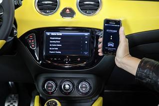 Opel ADAM mit IntelliLink