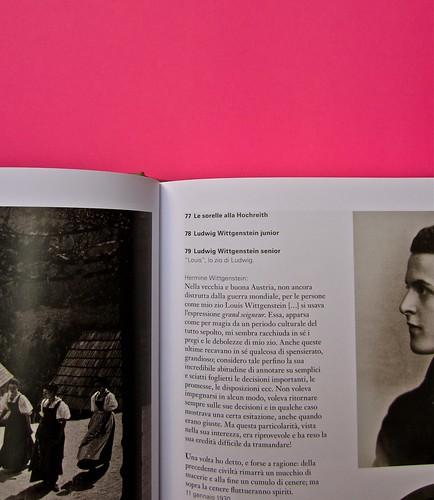 Michael Nedo (a cura di), Una biografia per immagini. Carocci 2013. Progetto grafico di Shoko Mugikura e Michael Nedo. Falcinelli & co. per l'ed. it. Pag. 78 e 79 (part.) 1