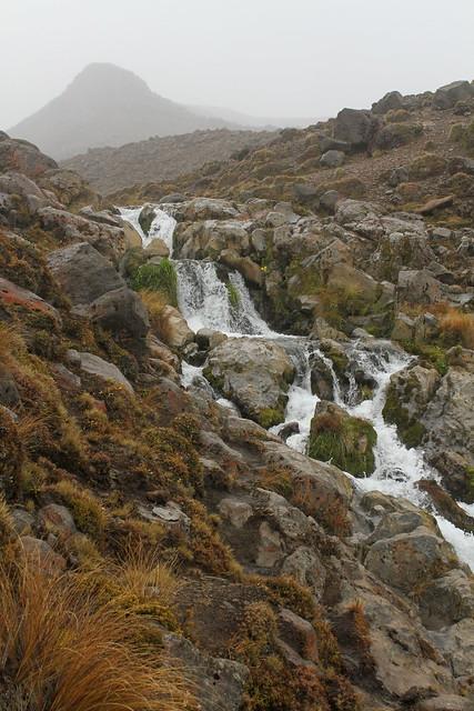 Alpine Water Cascade in Tongariro National Park