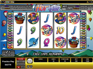 Hot Air Free Spins