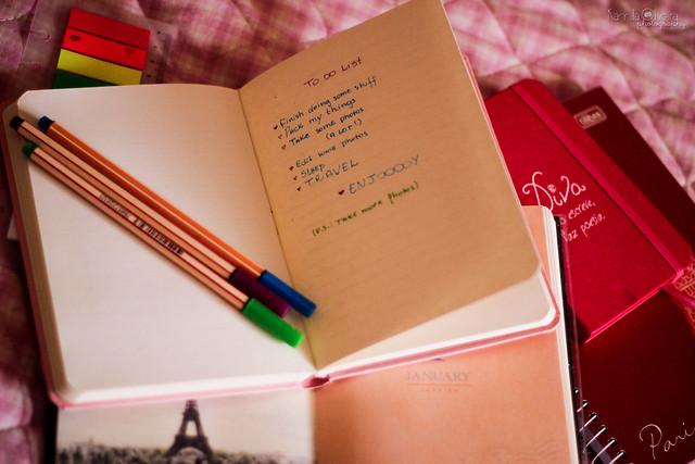 {January, 20} To do list!