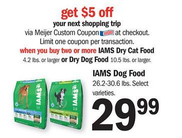 Iams coupons $5