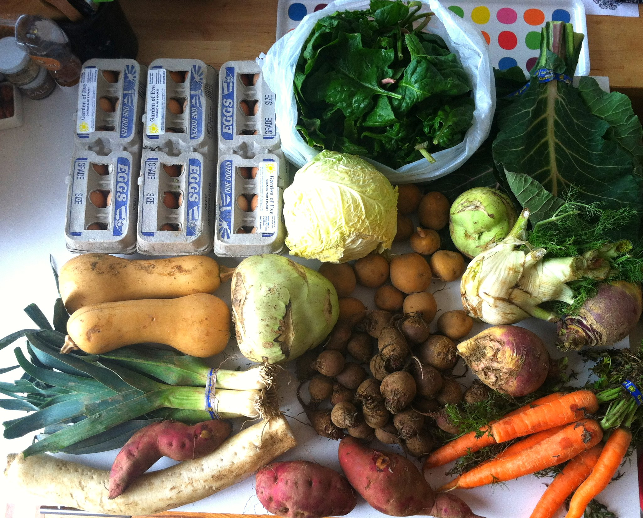 winter csa 1 and 2 u2013 ugly food tastes better