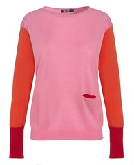 colour_block_jumper_powder_blush_peony_cream_front
