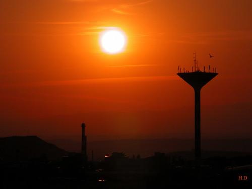 france nature soleil nikon coolpix paysage auvergne coucherdesoleil puydedôme clermontferrand