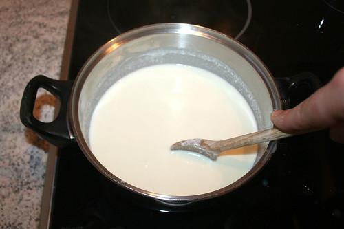 30 - Unter Rühren schmelzen lassen / Stir and melt cheese