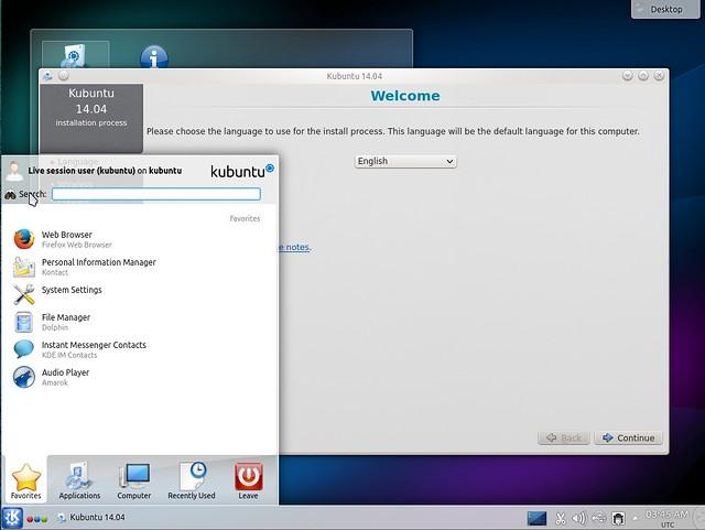 Kubuntu 14.04 Alpha 2 Install