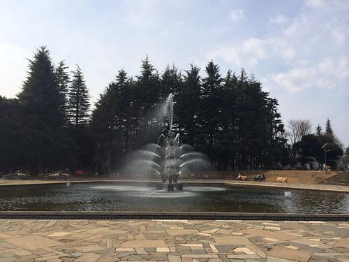 世田谷公園 噴水