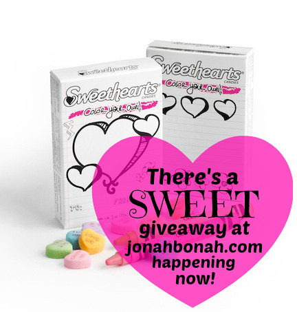 NECCO Sweethearts giveaway