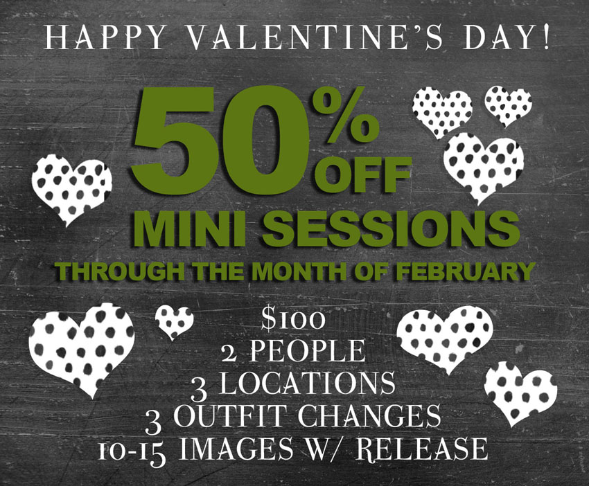 february mini session sale :: 50% off! | indiejane photography