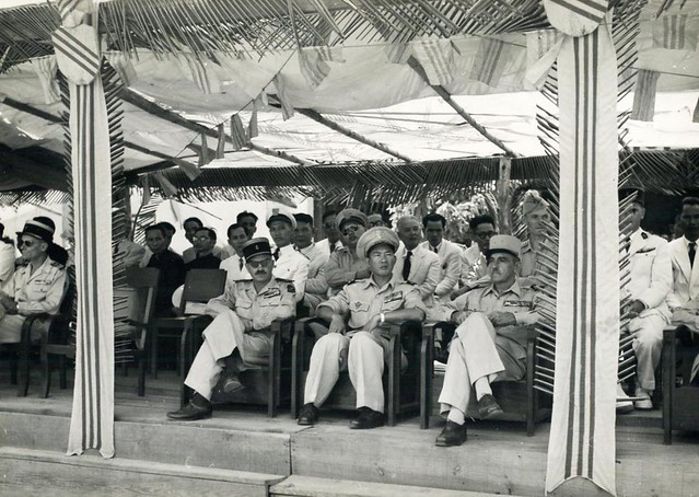 1951 Indochine - Saigon - Tribune officielle franco-indochinoise