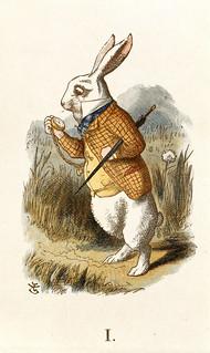 The Nursery Alice - caption: 'The White Rabbit'
