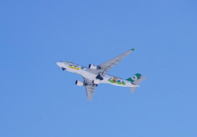Hello Kitty Jet☆EVA AIR