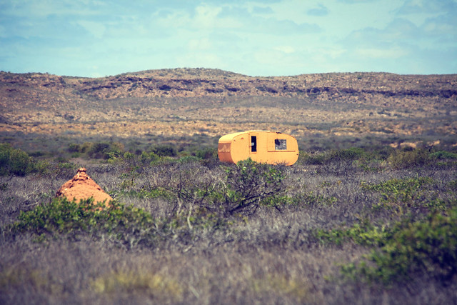 Outback Caravan of love, Exmouth, Western Australia