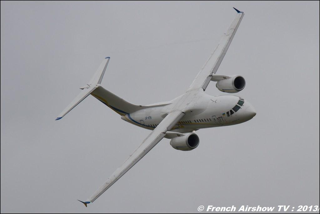 Antonov An-158 ,Salon du Bourget 2013,Paris Airshow 2013