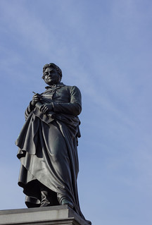 Image of Berzelius. statue stockholm