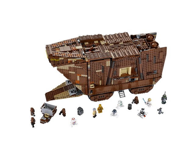 LEGO Star Wars 75059 - Sandcrawler UCS - Whole Scene