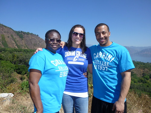 Janet Gervais, Shae McPherson, and Moira Melidosian, Cabrini College MSL students on a spring break Study Abroad trip to Guatemala